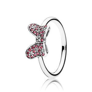 Pandora Disney Minnie Bow Silver Ring